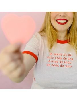 Camiseta unisex Cosa de uno
